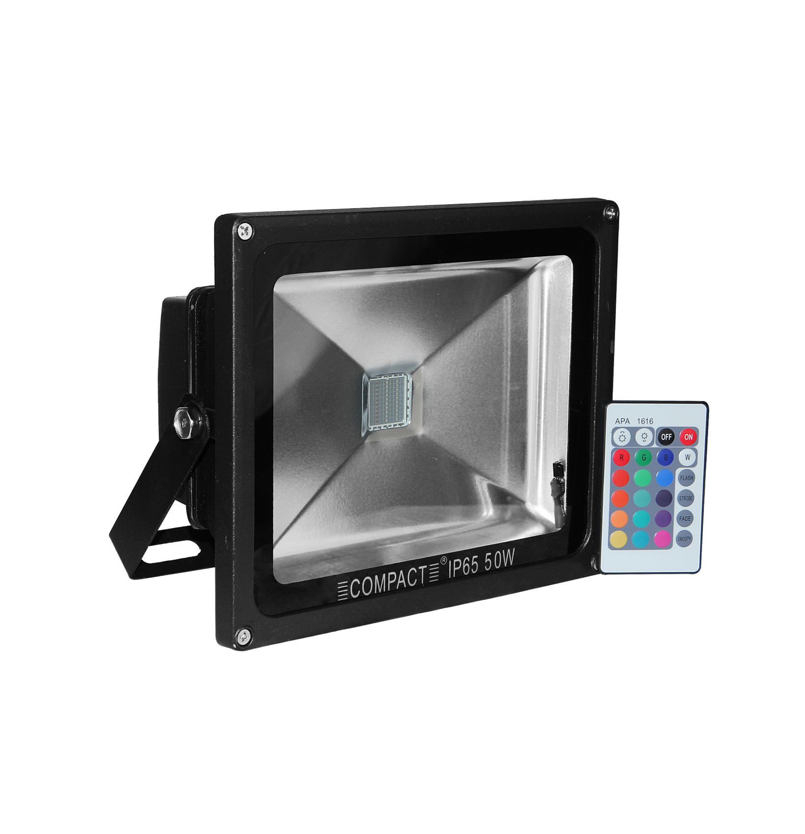 COMPACT 50W SAPPHIRE LED FLOOD LIGHT- Colour Changing(with ...